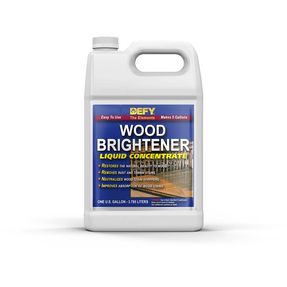 Wood Cleaner Defy Stain Stripper Defy Wood Brightener Defy Marine Wood ...