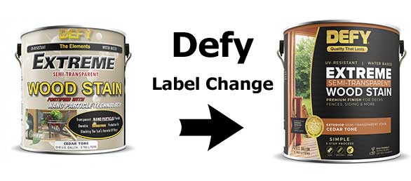 Defy Extreme 1 Gallon Label Change