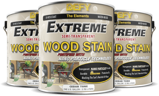 Defy Extreme Water Based Wood Stains