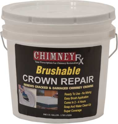 Chimneyrx Brushable Crown Repair 2 Gallon Chimney Rx Products