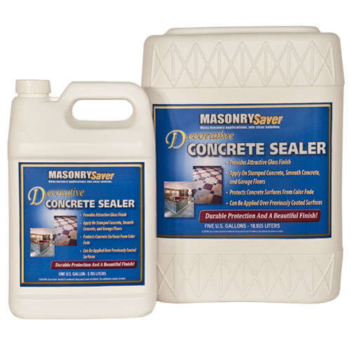 Masonry Saver Decorative Concrete Sealer 5 Gallon