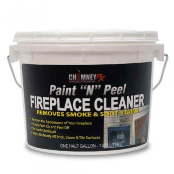 Chimneyrx Paint N Peel Fireplace Cleaner Chimney Rx Products